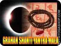 Grahan yog shanti yantra mala This Grahan yog shanti Yantra and rosary energized by Grahan yog shanti mantra. It gives you proper direction for...