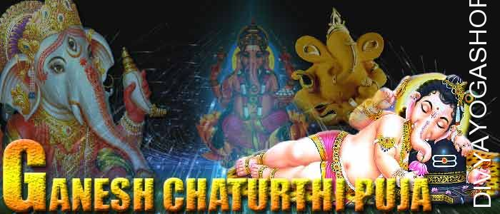 Ganesha chaturthi puja  On this special and propitious yoga divyayogashop performs special maha ganesha tantrik poojan for riches. This tantrik pujan is specially performed ...