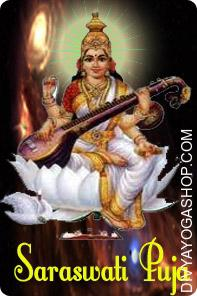 Saraswati Puja Maata Saraswati (Sarasvati) is the spouse (consort) of Lord Brahma. Out of all teh God and Goddess she is the one who possesses the powers of speech, knowledge and learning....