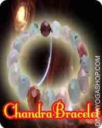 Chandra (moon) brecelet This Chandra (moon) bracelet has been energised by Chandra mantra. Chandra bracelet beneficial for unnecessary stress and strain, loss of confidence and memory, insensitivity...