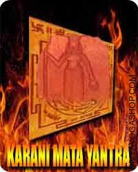 Karni Mata yantra Karni Mata was born on 2nd October 1387 in Suwap, Rajasthan. She was the seventh baby of Mehoji Charan...