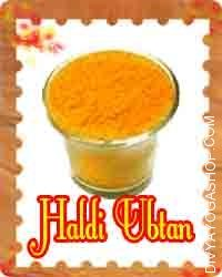 Haldi Ubtan for beauty