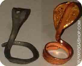 Naag dan for kalsarp This iron and copper naag is charged by rahu and ketu mantra and beneficial for removing...