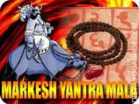 Markesh yog shanti yantra mala This Markesh yog shanti Yantra and rosary energized by Markesh yog shanti mantra. It gives you improving your...