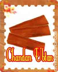 Chandan ubtan This Chandan Ubtan charged by Shukra mantra. Excessively used for Chandan Ubtan cooling and...