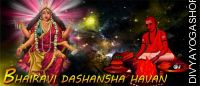 Bharavi dashansha havan for protection