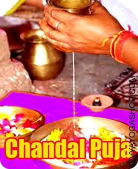 Chandal Dosha Puja Guru Chandal Dosha (गुरु चांडाल दोष) is formed when both Jupiter and Rahu occupy the identical sign. the lifetime of the person is effected as a result of mixed qualities of Jupiter and Rahu...