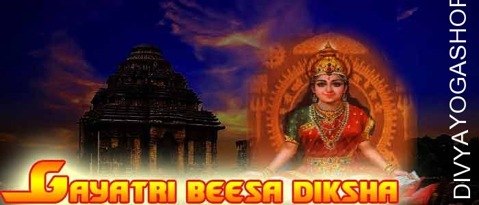 Gayatri Bessa Diksha Gayatri Devi is Maha Devi and deity of Shri Gayatri Yantra. The Yantra incorporates Panchmukhi or Ashat Mukhi...
