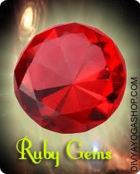 Ruby (Manikya) Gems This ruby Crystal  gemstone charged by Surya mantra. The ruby is taken into account to be essentially the most highly effective gem in the universe, and is related to many astral signs...
