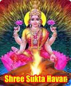 Shree sukta paath havan This is very special paath havan of godess lakshmi. This is beneficial for all kind of material life...