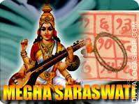 Megha-saraswati yantra mala for marketing This Megha-saraswati Yantra and rosary energized by Megha-saraswati Mantra. It gives you more attention...