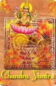 Chandra bhojpatra yantra This  Siddha Chandra  Bhojpatra  Yantra charged by   Chandra  mantra.  Chandra Yantra, because the name signifies, negates the malefic impact of the Moon. Malefic effects of Moon are Urinary diseases,...
