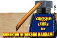Kaner kalam with yaksha kardam ink set