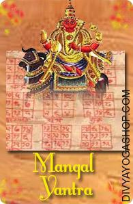 Mangal bhojpatra yantra This  Siddha Mangal  Bhojpatra  Yantra charged by  Chandra  mantra.  Chandra Yantra, Mangal  Bhojpatra  Yantra helps the worshipper to beat the above difficulties and one succeed in all his efforts to achieve desires and lead a comfortable life...