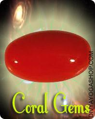 Red Coral (Moonga) gems