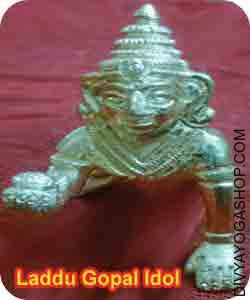 Brass Laddu gopal idol Ladoo Gopal is the kid type of Sri Lord Krishna. He's pooja on this kind broadly through the Janmashtami...