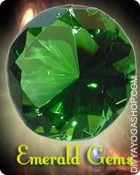 Emerald (Panna) gems This emerald gemstone charged by Budh mantra. The emerald is the sacred stone of the goddess Venus. It was thought to protect love. The emerald has long been the image of hope...