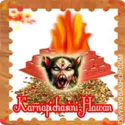 Karnapichasini hawan samagri This Karnapichasini Havan Samidha is charged by Karnapichasini mantra. Every Saturday, Amavasya (1am to 3am) you can also provide Ahuti 108 time by this Karnapichasini havan  Samagri for past predictions. This material has been specially prepared for Karnapichasini Havan...