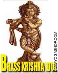 Brass krishna idol Lord (bhagawan) Krishna may be observed and loved in our ambit of Brass Load krishna Statues...