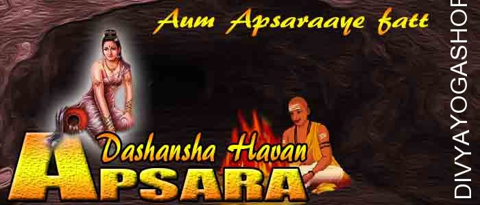 Apsara dashansha havan If person is performing Apsara sadhana and unable to do havan after sadhana. The Divyayogashop provides...