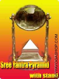 Shree pyramid yantra stand