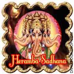 Heramb Ganesha Sadhana for success n Tantrik sadhnas and Tantra Procedures associated to Lord Shri Ganpati, there are current many forms of essential procedures associated to his numerous forms...