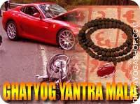 Ghat dosha shanti yantra mala This Ghat dosh shanti Yantra and rosary energized by Shiva mantra. It gives you protection from...