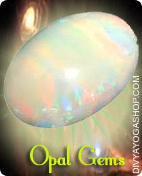 Opel Gems This Opal gemstone charged by Shukra mantra. There are two categories of opals - common and precious. The Precious opals are composed of three groups: white, black, and fire opal...