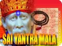 Sai yantra mala for prosperity This Sai Yantra and rosary energized by Sai Mantra. It gives you protection, good health, Sadhana for...