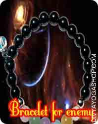 Bracelet for protection from enemy This Bracelet for enemy protection has been energised by Kali mantra. By wearing this bracelet protect your body from all kind of Tantra effect...