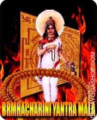 Brahamcharini yantra mala for conducive to penance and renunciation This Brahamcharini Yantra and rosary energized by Brahamcharini Mantra. It gives you rejection...