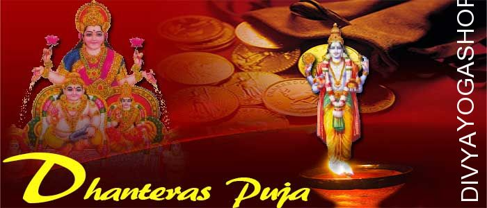 Dhanteras puja Dhanteras or Dhantrayodashi is one of the propitious holy ceremony carried out on the 1st day out of 5 days of Diwali pujan and rituals...