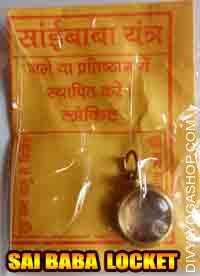 Saibaba yantra locket This Sai Baba Yantra Locket is charged by 1001 Sai Baba Mantra. This is benefitial for Luck,Protection,Prosperity and ...