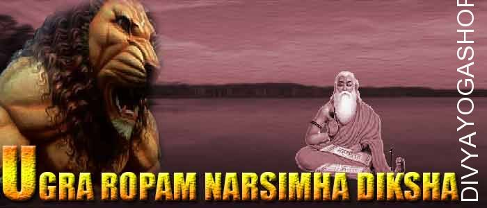 "Ugra Roopam Narsimha Diksha Lord (bhagawan) Narsimha, which implies ""Man-lion"" in Sanskrit, it is an avatar of the Lord Vishnu. He's typically depicted..."