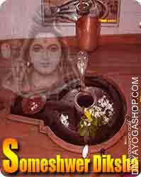 Someshwer diksha Someshwer is formed of Lord Shiva. This is beneficial for getting peace of mind ,cool mind and protection...