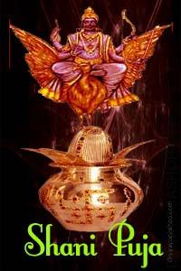 Shani Dosha Puja Lord shani Puja is completed to appease planet Saturn (shani). Grah Shanti Lord shani Pooja (Worship of Saturn) is searched for mental peace and to eliminate numerous illnesses. Following issues are associated with Shani (Saturn)...