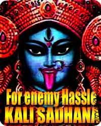 Mata kali sadhana  to stop enemy Hassle