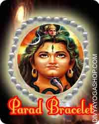 Parad (Rasmani) bracelet This Parad Bracelet has been energised by Shiva mantra. Parad Bracelet beneficial for  Blood Pressure and Palpitations, Anxiety and Depression...