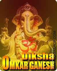 Omkar ganesha diksha This is beneficial for wealth and