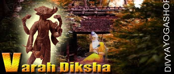 Varaha Diksha Varaha, third of the ten incarnations (avatars) of the Hindu bhagawan Vishnu. When a devil named Hiranyaksha...