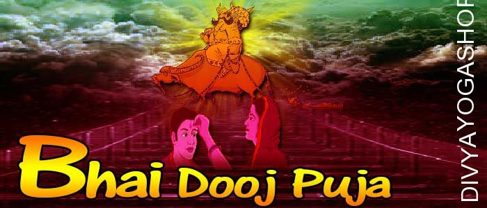 Bhai duj puja Bhai Dooj also called Bhau-Beej / Bhai Tika / Bhai Phota is a event celebrated by Hindus in India with huge energy on the last day of the five-day..