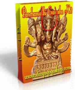 Panchamukhi Ganesha spiritual kit This Panchamukhi Ganesha Spiritual kit has been charged by Panchamukhi Ganesha mantra. It is beneficial for spirituality and good luck. No need to Puja, Sadhana, chanting...