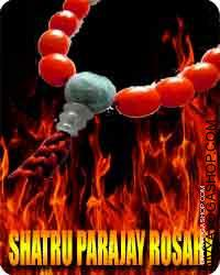 Shatru Prajay rosary The Shatru Vidhwansini Stotram is a strongest rhyming prayer; an chant in Sanskrit to destroy, take away...