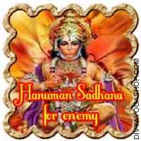 Hanuman Sadhana for enemy protection