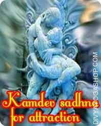 Kamdev sadhana for attraction