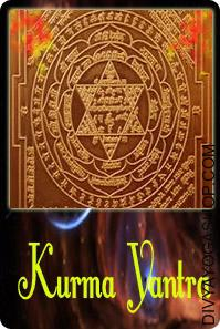Kuber copper yantra
