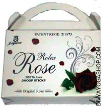 Rolex rose dhoop sticks