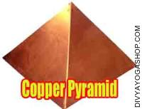 Copper pyramid top