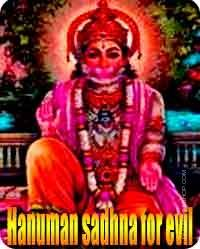 Hanuman sadhana for Get rid of Evil Spirits and Ghosts