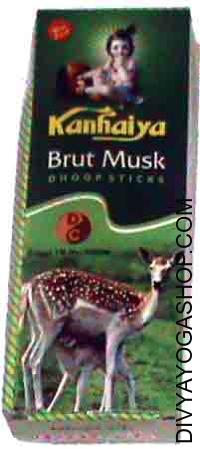 Kanhaiya brut musk dhoop sticks